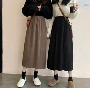 全2色♡ ハイウエスト細プリーツスカート♡