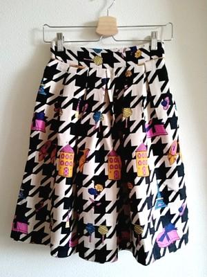 再再再入荷★千鳥格子のお洒落柄スカート