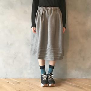 透かし模様のAラインスカート(~Autumn Leaves una.corda.~)
