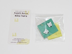 Rabbit Natch  21 しろくまピアス