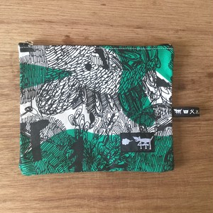 "ミニポーチ mini pouch ""jungle here""G06"