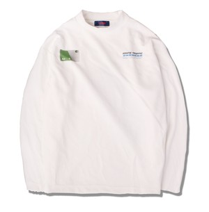 IC CARD L/S TEE / WHITE