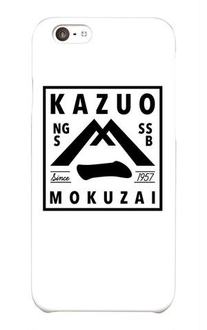 送料無料【KAZUOモクザイ】オリジナルiPhoneケース(iPhone6/6S)