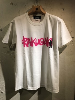 RAKUGAKI GRAFFITI KIDS T-Shirts WHITE