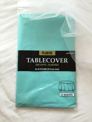 TIFFANY BLUE  テーブルクロス 丸テーブル用