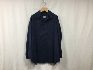 "HOMELESS TAILOR""GAUZE SKIPPER NAVY"""