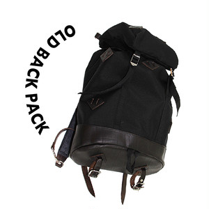 Wanderers old back pack [ Black ]