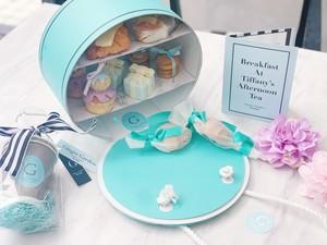 残りわずか!【blue】オリジナルアロマワックスディフューザー付き Ginger Garden tea party  box (BLUE)
