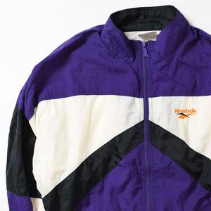 【Lサイズ】 REEBOK リーボック NYLON JACKET ナイロンジャケット PURPLE L 400610191006