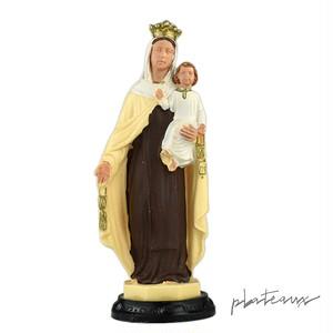幼子イエスを抱く聖母マリア 磁石付プラスチックフィギュア