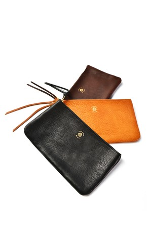 Leather pouch (M)