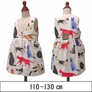 ジャンパースカート(前ボタン) 110-130