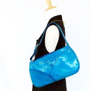 【Lindotigo】ラムレザーハンドバッグ/ブルー