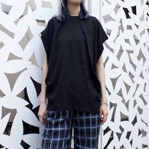 【WOMENS - 1 size】SLEEVELESS FLY TEE / Black