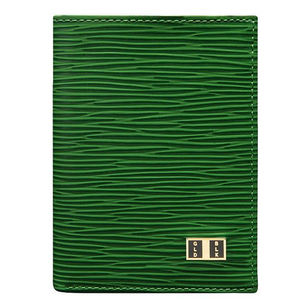 ゴールドブラック(GOLDBLACK) BIFOLD SLIM WALLET UNICO GREEN