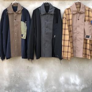 "elephant TRIBAL fabrics  ""hybrid shirt"""