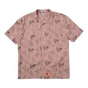 BLUEPRINT SHIRTS(PINK)[TH9S-015]