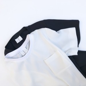 Formal Pocket T/WHITE
