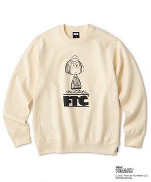 FTC x PEANUTS® PEPPERMINT CREW -CREAM-