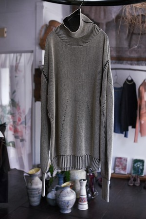 【予約】AKIKOAOKI Dual face knit