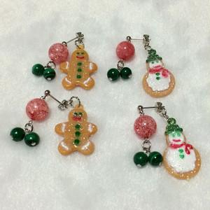 【SALE】クリスマスピアス