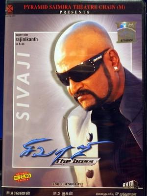 【Sivaji the Boss】輸入盤DVD 英語字幕 ラジニカーント ※現在予約者のみ購入可