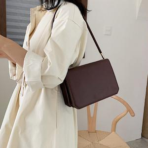 【バッグ】日系淑女高級感レトロファッショショルダーバッグ