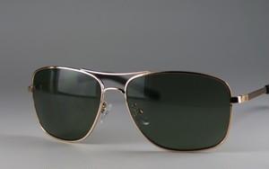 メンズメタルサングラス6266[ハードケース付き]