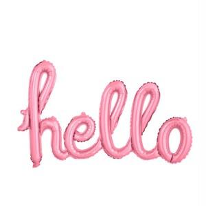 helloバルーン(ピンク)