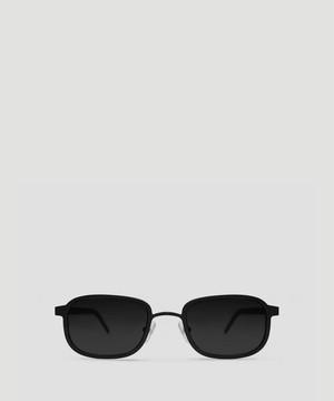 BLYSZAK Ⅲ Metal. Matte Black . Black Lens  SQ001