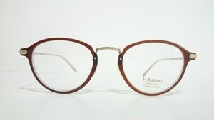 H-fusion HF-122 088 BROWN CLEAR GOLD