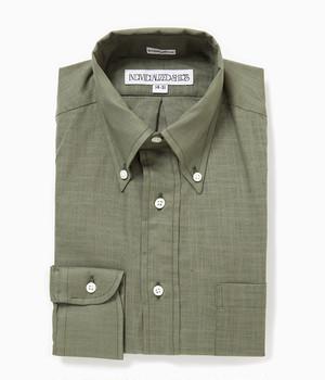 INDIVIDUALIZED SHIRTS / Ultra Light Poplin B.D Shirts StandardFit[olive]