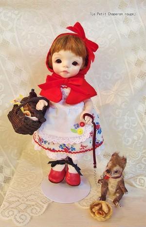 「Le Petit Chaperon rouge」 赤ずきんちゃん