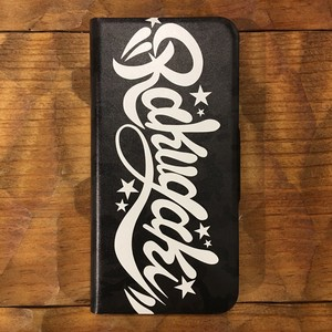 RAKUGAKI STAR CAMO Soft iPhone Case Black For iPhone 7