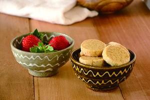 十郎さんのイッチン小鉢〈茶 / グレー〉