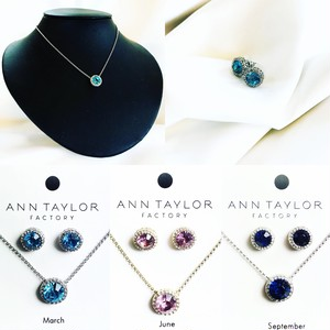 --NEW-- ANN TAYLOR 「ネックレス&ピアス」