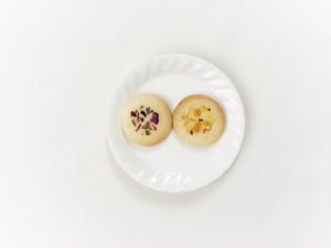 リニューアル 残り5個 限定10個 お花とハーブの丸いクッキー