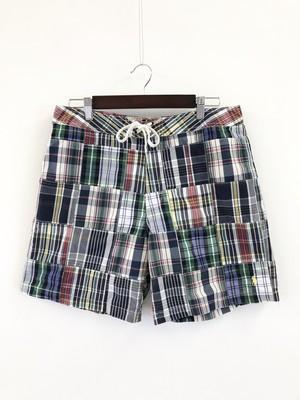 Polo Ralph Lauren Plaid Patchwork Shorts
