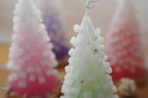【限定】X'mas tree candle クリスマスツリーキャンドル2016 グリーン