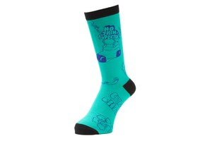 WHIMSY (ウィムジー) / NOTHIN'SPECIAL x WHIMSY / WEST SIDE STORY SOCKS -MELON-