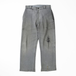 French work pique trousers