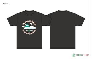 猪苗代野外音楽堂MEETAGAIN あの遊覧船Tシャツ(MA-05)