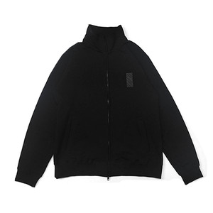 scar /////// MONOLITH FULL ZIP SWEAT (Black)