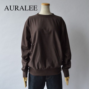 AURALEE/オーラリー ・SUPER HIGH GAUGE SWEAT BIG P/O