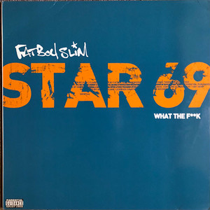 Fatboy Slim - Star 69 (What The F**k) (12inch×2) ドラムンベース [techno] 試聴 fps81010-2