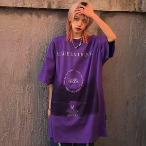 【トップス】男女兼用半袖プリントファッション暗黒系ストリート系Tシャツ44805537