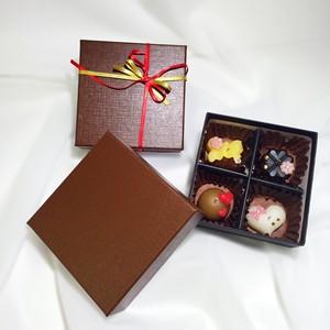 バレンタインチョコキャンドル(4粒入)