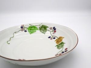 九谷フェスティバル 野ぶどうの図 浅鉢