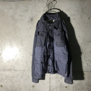 [TOMMY HILFIGER]center switching jacket