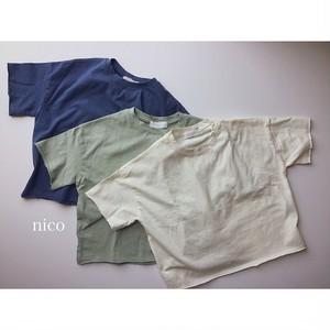きれい色シンプル無地Tシャツ